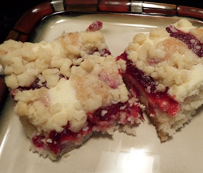 Recipes, Projects & More - Very Easy Cherry Streusel Cake