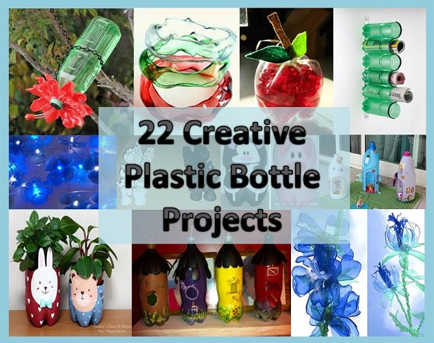 Recipes projects more 22 creative plastic bottle for Creative ideas for recycling plastic bottles