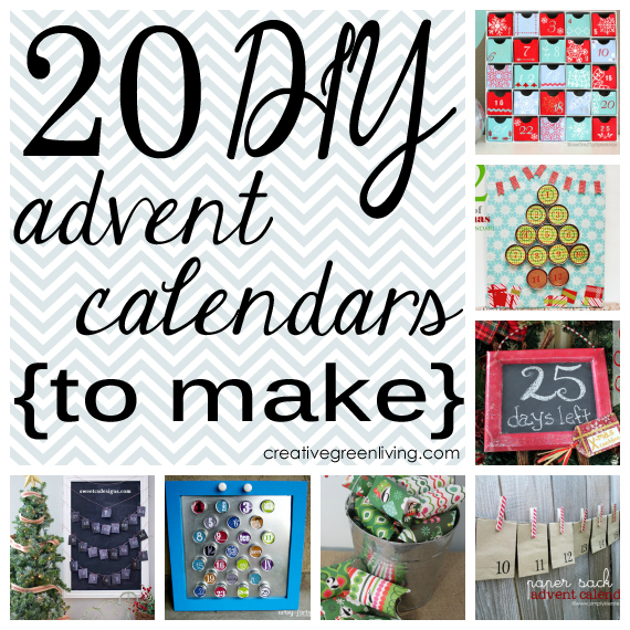 Diy Chocolate Advent Calendar : Recipes projects more diy advent calendars to make