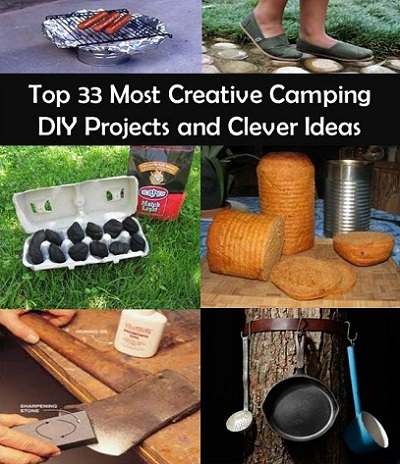 Top 33 most creative camping diy projects and clever ideas for Clever diy projects