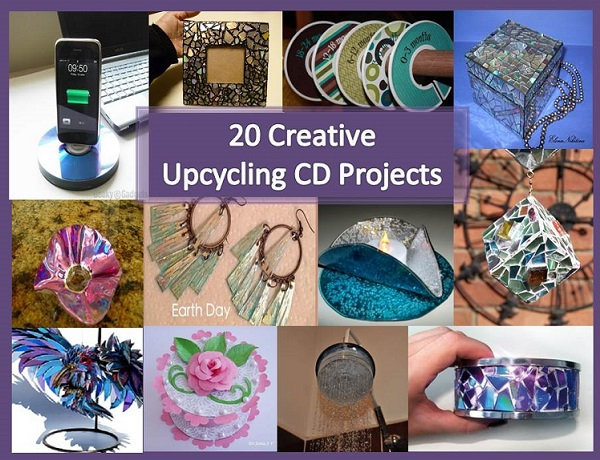 Recipes projects more 20 creative upcycling cd projects - Top uses for old cds and dvds unbounded ideas ...