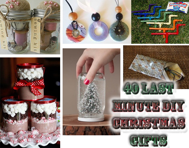 Recipes Projects More 40 Last Minute Diy Christmas Gifts