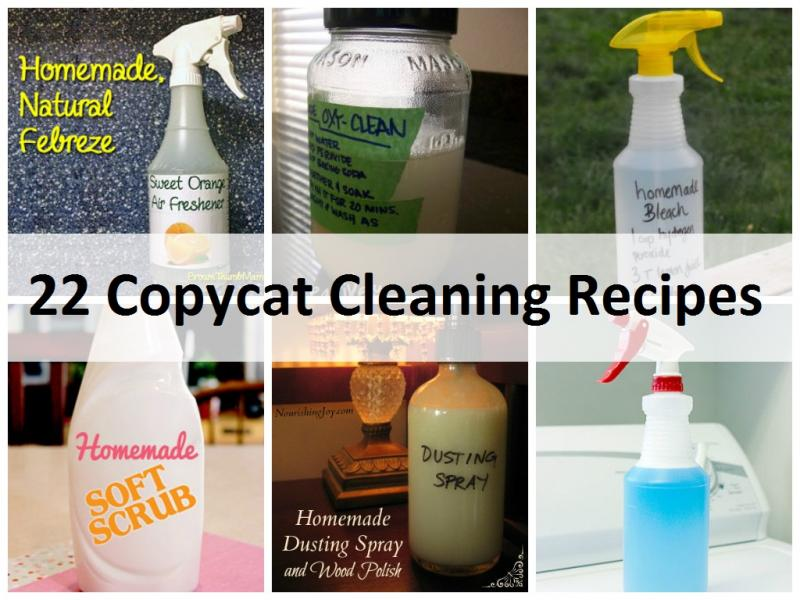 Recipes Projects Amp More 22 Copycat Cleaning Recipes